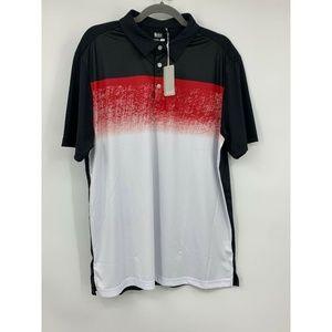 Sligo large Pierve Polo golf shirt athletic NEW